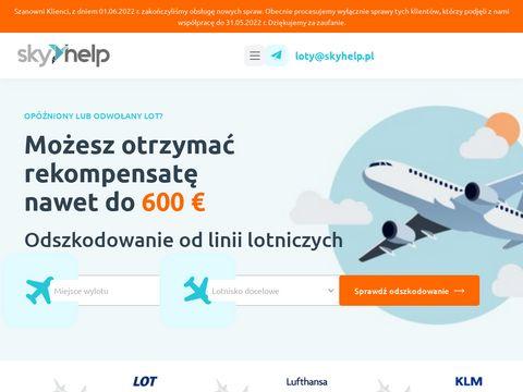 Skyhelp.pl odszkodowanie za opóżniony lot