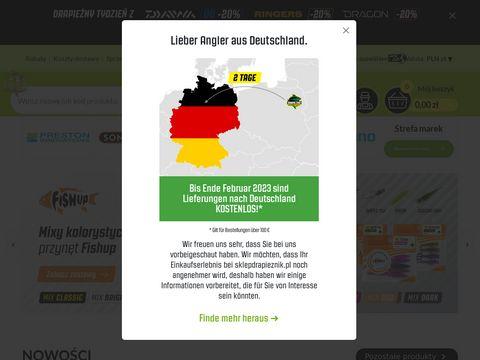 Sklepdrapieznik.pl internetowy sklep wędkarski
