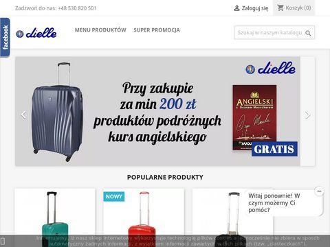 Sklep.dielle.pl kuferki na kosmetyki