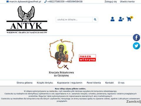 Sklep.antyk.org.pl księgarnia patriotyczna