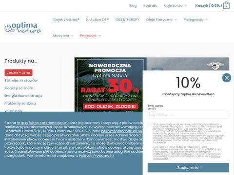 Sklep.optimanatura.eu naturalne olejki eteryczne