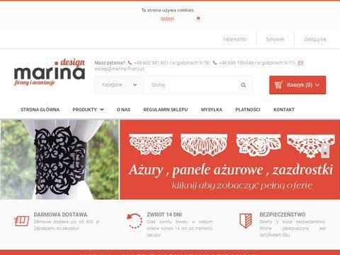 Sklep.marina-firany.pl szyny sufitowe aluminiowe
