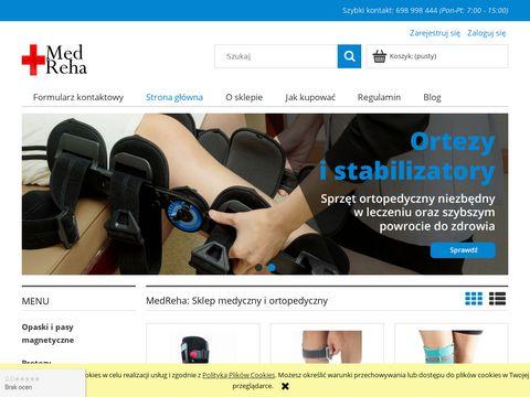 Sklep.medreha.pl sprzęt ortopedyczny