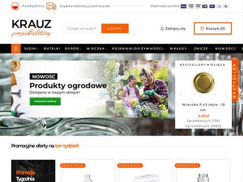 Sklep.krauz.com.pl butelki