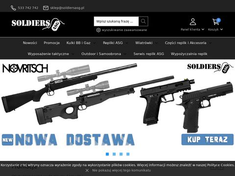 Sklep.soldiersasg.pl magazynki Hi-Cap i Mid-Cap