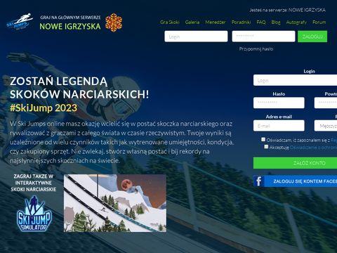 Ski-jumps.pl darmowa gra sportowa