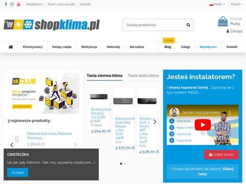 Shopklima.pl tania klimatyzacja