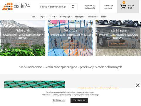 Siatki24.com.pl - na piłkochwyty