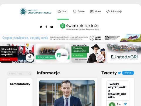 Swiatrolnika.info ekologia