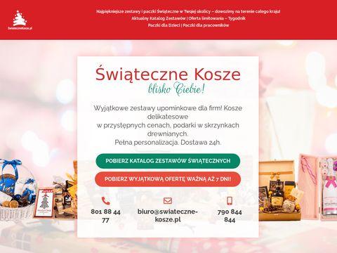Paczki świąteczne - swiateczne-kosze.pl