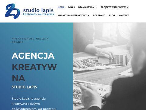 Studiolapis.pl identyfikacja wizualna Olsztyn