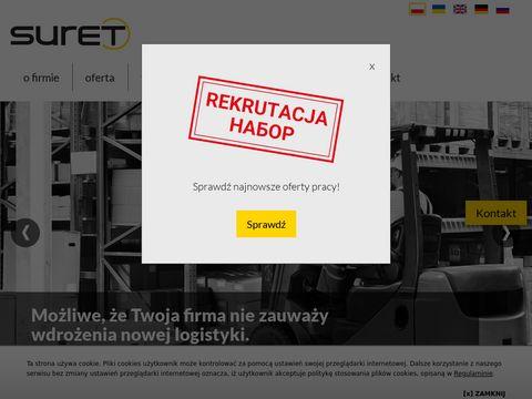 Suret-relokacje.pl instalacja produkcji