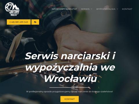 Sportowywarsztat.pl serwis nart Wrocław