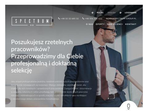 Spectrum-hr.pl agencja pośrednictwa pracy