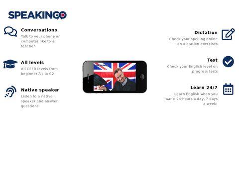Speakingo.com - kurs języka angielskiego