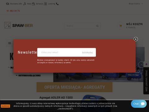 Spawber.com.pl sklep internetowy ze spawarkami