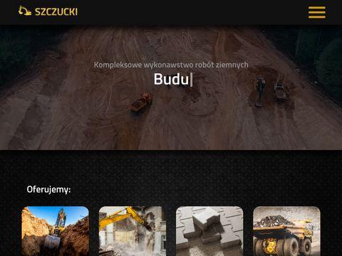 Szczucki.pl usługi budowlane roboty ziemne