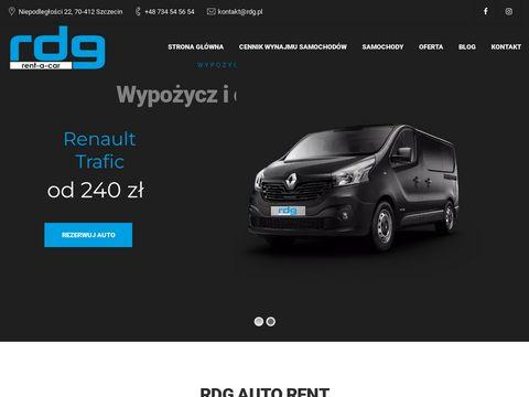 Rdg.pl wypożyczalnia samochodów Szczecin