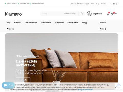 Ramaro.sklep.pl nowoczesne meble do salonu