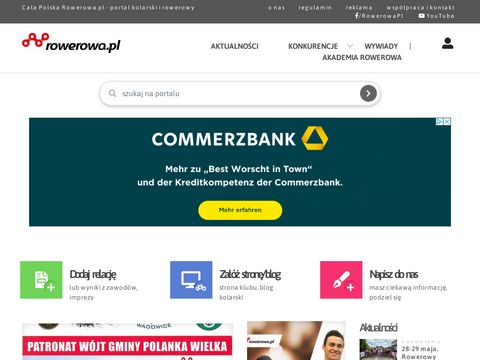 Rowerowa.pl portal rowerowy