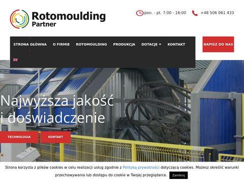Rotomoulding-partner.pl odlewy rotacyjne