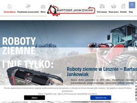 Robotyziemneleszno.pl