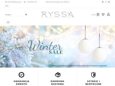Ryssa.pl lampy sklep internetowy
