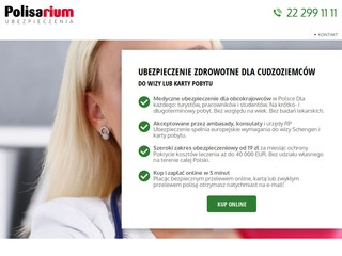Ubezpieczeniecudzoziemca.pl do karty pobytu
