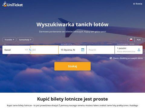 Uniticket.pl bilety lotnicze