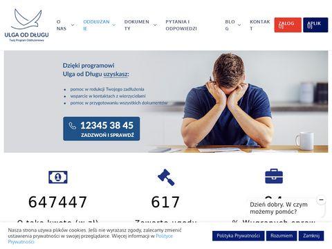 Ulgaoddlugu.pl pomoc dłużnikom