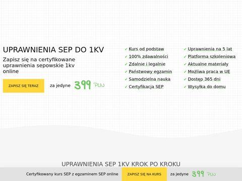 Uprawnienia-sep-1kv.pl
