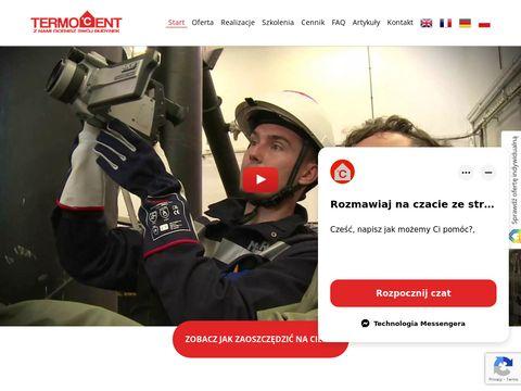 Termocent.com badania termowizyjne budynków