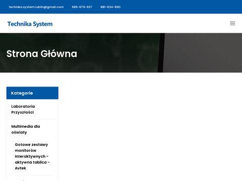 Technikasystem.lublin.pl monitory dla biura