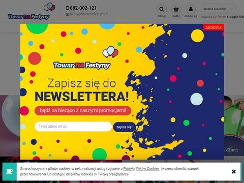 Towarnafestyny.pl hurtownia balonów cyfry foliowe