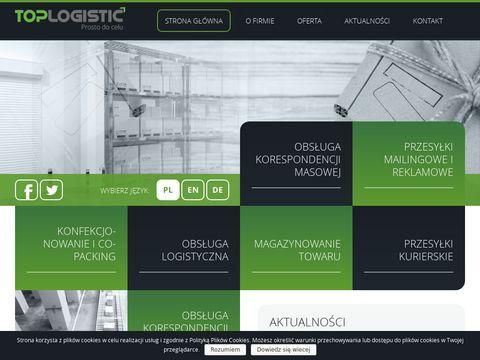 Toplogistic.pl przesyłki mailingowe