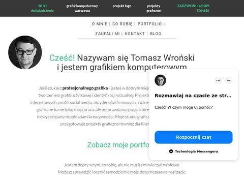 Projekty graficzne Warszawa - tomaszwronski.pl