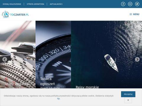 Toczarter.pl jachtów na Mazurach