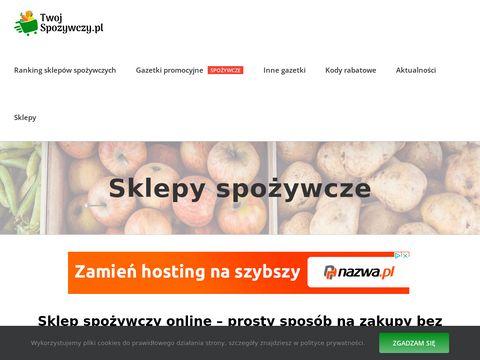 Twojspozywczy.pl zakupy z dostawą do domu