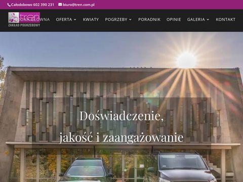Tren.com.pl zakład pogrzebowy Warszawa