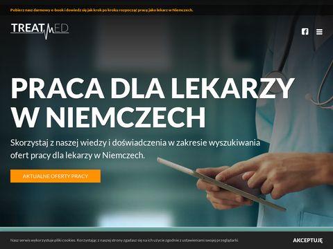 Treatmed.pl praca dla lekarzy w Niemczech