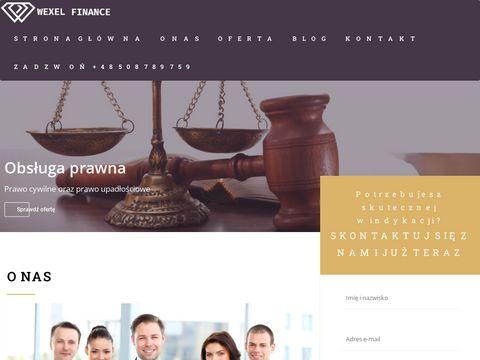 Wexel.pl skup długów Kraków