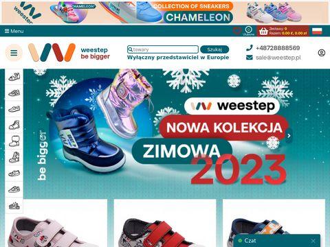 Weestep.pl obuwie dziecięce hurtownia