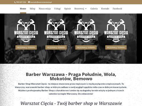 Warsztatciecia.pl fryzjer męski Warszawa