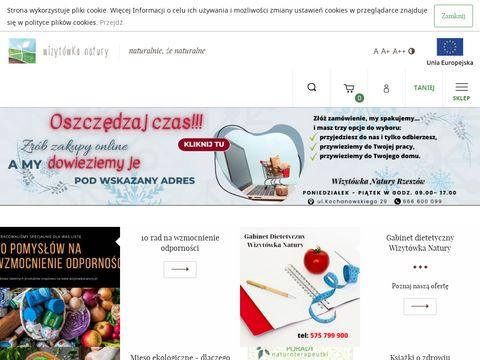 Wizytowkanatury.pl sklep ze zdrową żywnością