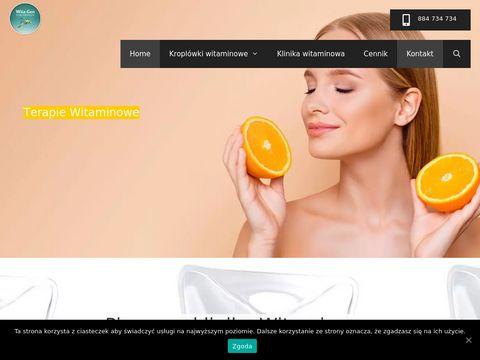 Witagen-kroplowki.pl witaminowe Wrocław