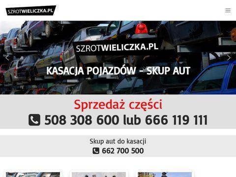 Szrotwieliczka.pl kasacja pojazdów Kraków
