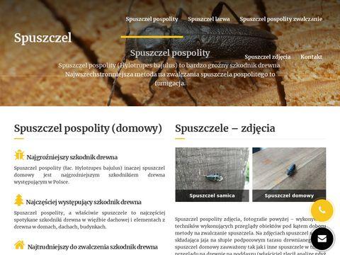 Spuszczel.info szkodnik drewna