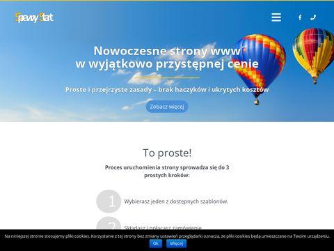 Sprawnystart.pl gotowe strony internetowe