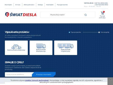 Swiat-diesla.pl sklep z częściami do silników