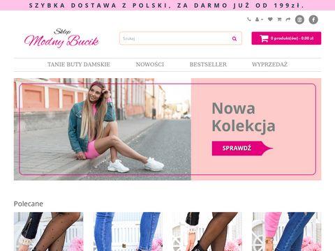 Sklep-modnybucik.pl damskie buty sportowe